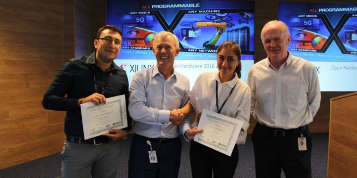 Il progetto ProFax vincitore agli Xilinx Open Hardware Contest 2016